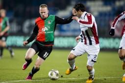 Willem II - NEC, Melvin Platje, Gaby Jallo