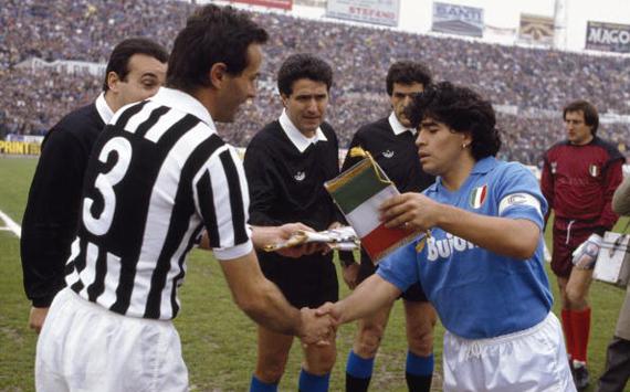 Antonio Cabrini - Diego Maradona / Juventus-Napoli 1988