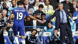 Diego Costa & Jose Mourinho | Chelsea