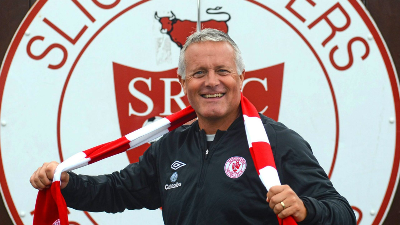 Micky Adams Sligo Rovers 06082015