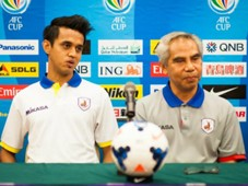 Shahdan Sulaiman Salim Moin Tampines Rovers AFC Cup pre-match press conference 21042014