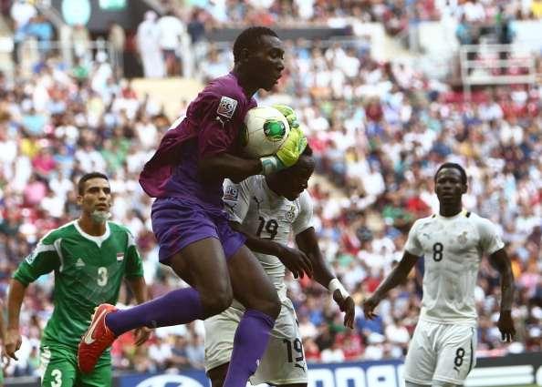 Ghana goalkeeper Richard Ofori
