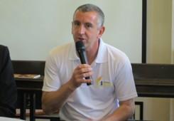 Nigel Winterburn, SCC Sixes, press conference