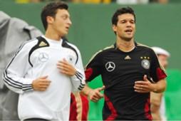 Mesut Özil & Michael Ballack - Germany, DFB