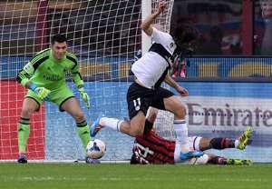 Amauri Milan Parma Serie A