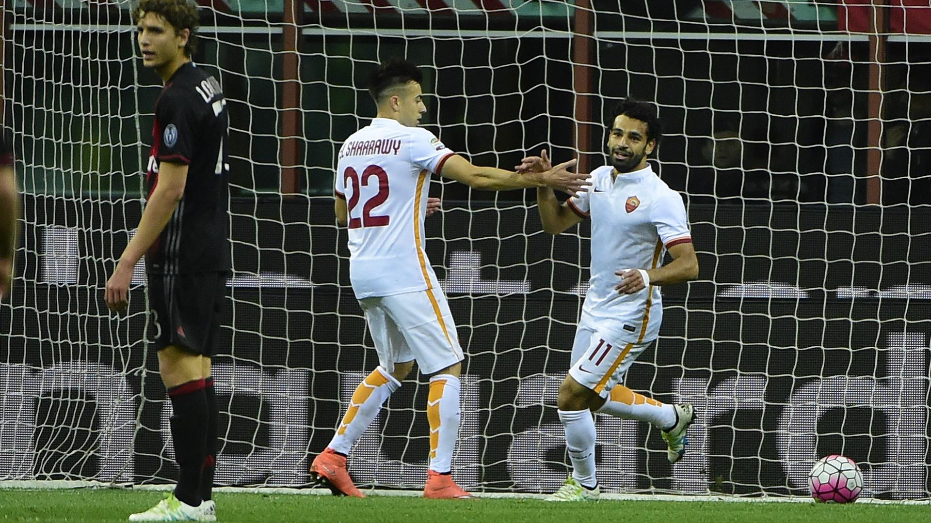 Roma Milan Salah