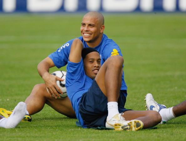 Ronaldo Nazario y Ronaldinho