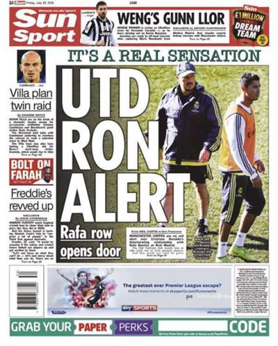 Newspaper Round-Up   230715   The Sun