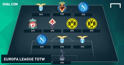 Europa League Team of the Week blank 0611201
