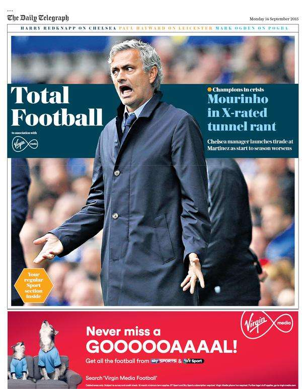 Telegraph Total Football 14092015