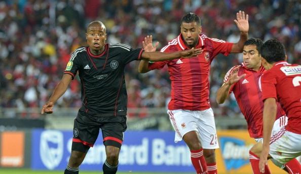 Thabo Matlaba, Orlando Pirates vs Al-Ahly, Caf Champions League, 02.11.2013