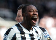 Newcastle United's Shola Ameobi