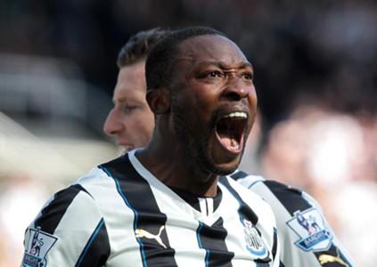 Newcastle United's Shola Ameobi