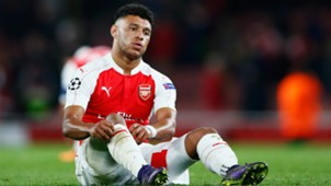 Alex Oxlade-Chamberlain Arsenal Olympiacos Champions League 29092015