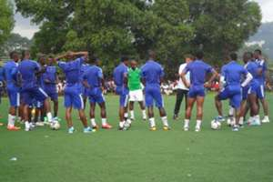 Sierra Leone team training