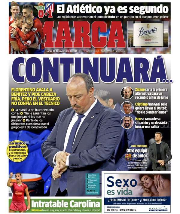 Marca frontpage 23112015