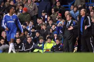 Drogba and Scolari (Chelsea 2008)
