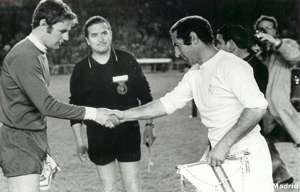 Francisco Gento, jugador legendario del Real Madrid