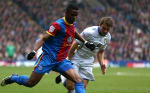 npower Championship, Crystal Palace v Leeds Unite, Wilfried Zaha & Stephen Warnock