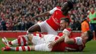 Danny Welbeck, Aaron Ramsey, Olivier Giroud Arsenal