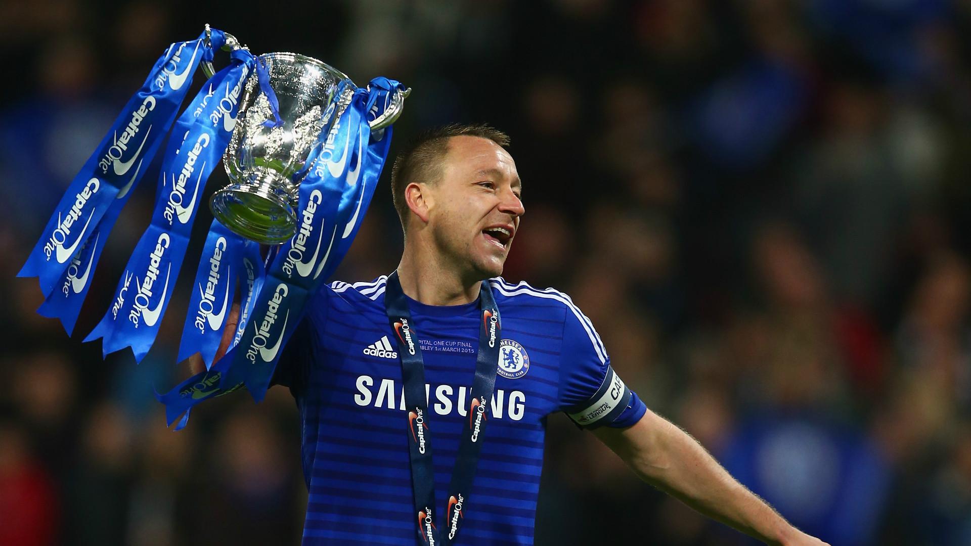 John Terry Chelsea League Cup 010315
