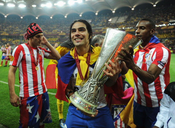 Falcao Campeón Atlético Madrid - Europa League 2011