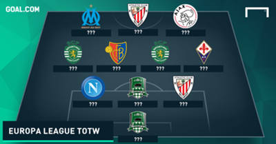 Europa League Team of the Week 26112015