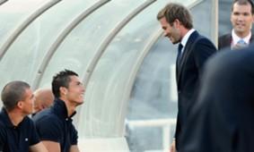 Beckham , Ronaldo