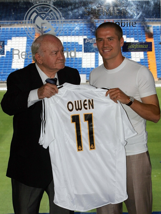 Owen, Real Madrid