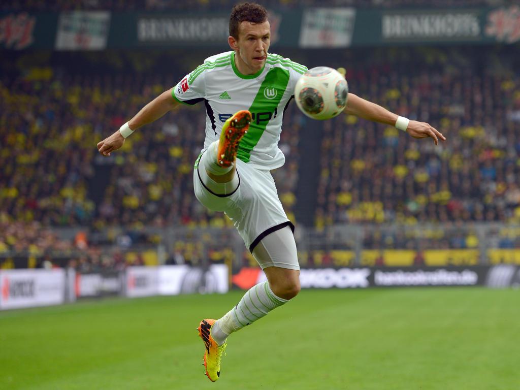 Ivan Perisic, VfL Wolfsburg vs Borussia Dortmund