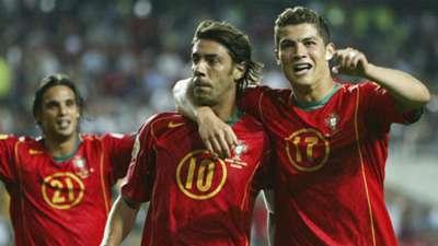 Rui Costa Cristiano Ronaldo Portugal