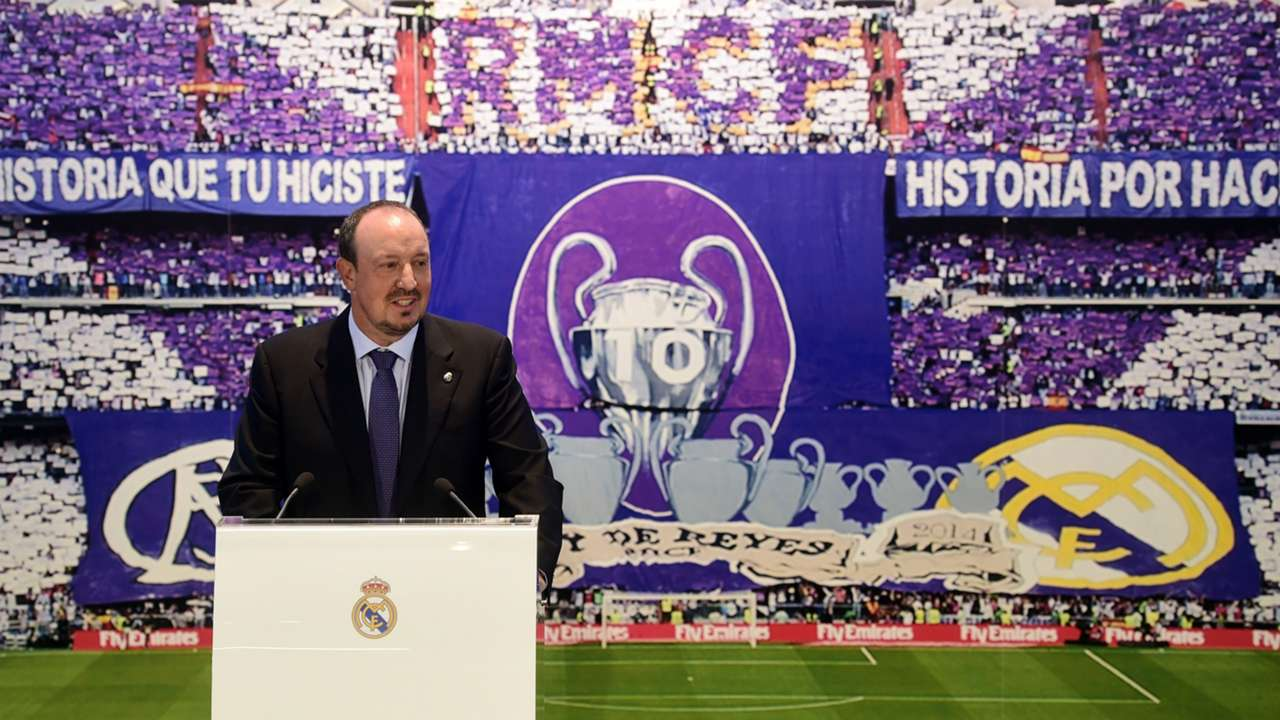 Rafa Benitez Real Madrid