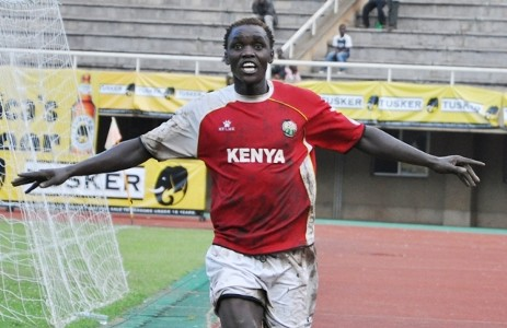 Kenya and Tusker defender David 'Cheche' Ochieng.