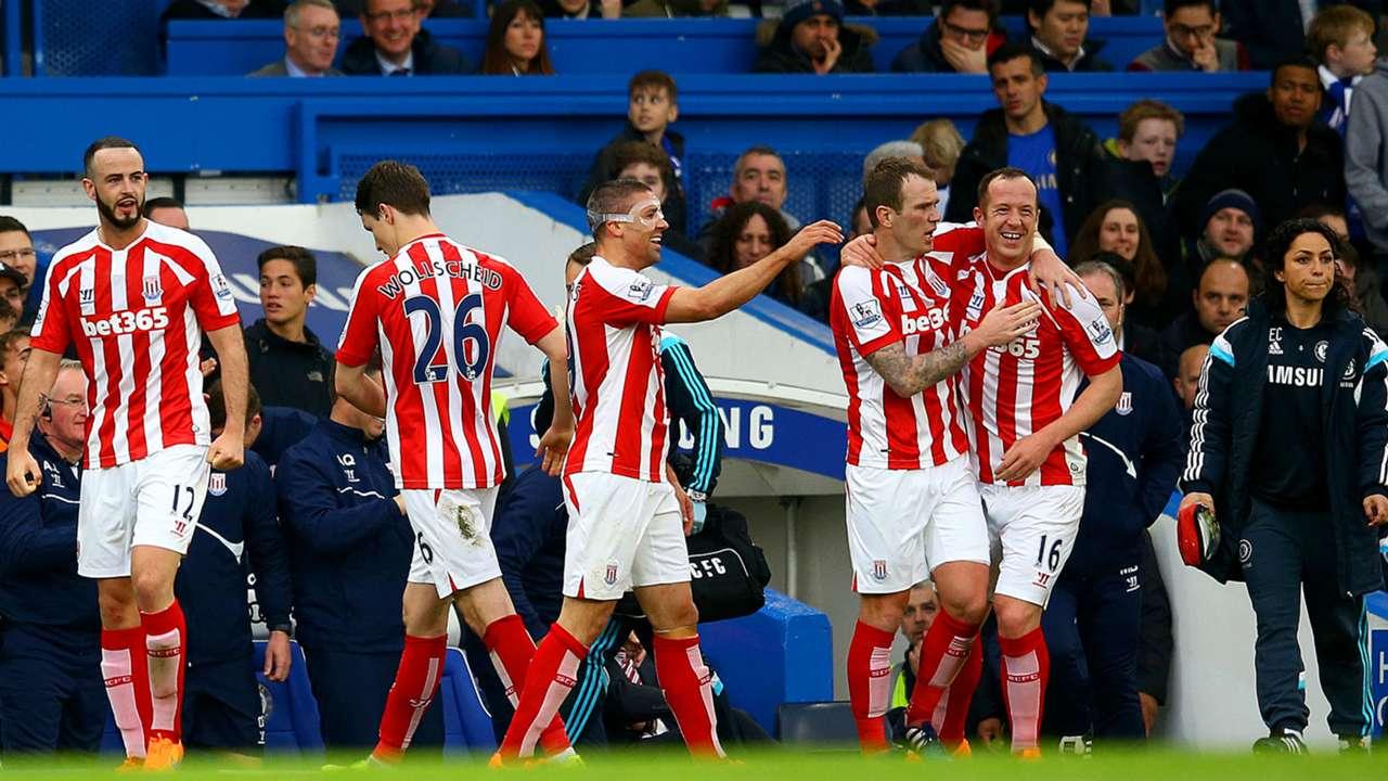 Charlie Adam   Chelsea 2-1 Stoke
