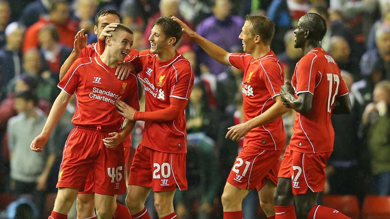 Jordan Rossiter | Liverpool 2-2 Middlesbrough (14-13 pens) | Capital One Cup | Anfield