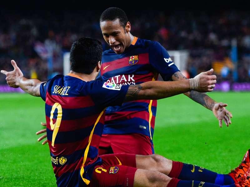 Neymar e Luis Suárez, uma sociedade ilimitada à espera de Messi