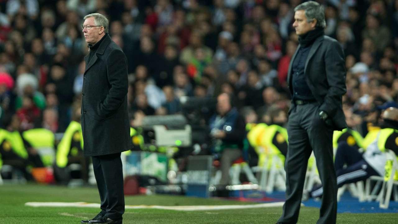 Sir Alex Ferguson Jose Mourinho Real Madrid Manchester United 13022013