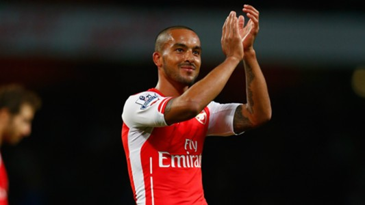 Theo Walcott Arsenal Premier League 011114