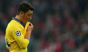Mesut Ozil Arsenal FC Bayern Muenchen UEFA Champions League 11032014