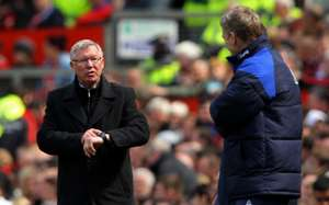 David Moyes Sir Alex Ferguson