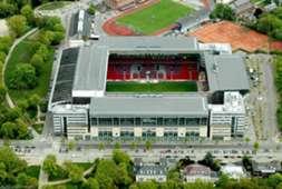 Parken Stadium - F.C. Kobenhavn & Osterbro Stadium - Boldklubben af 1893 and BK Skjold - Closest Stadiums