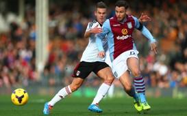 Chris Herd Fulham v Aston Villa English Premier League 12082013