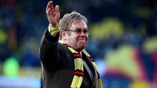 Elton John Watford Wigan Championship 13122014