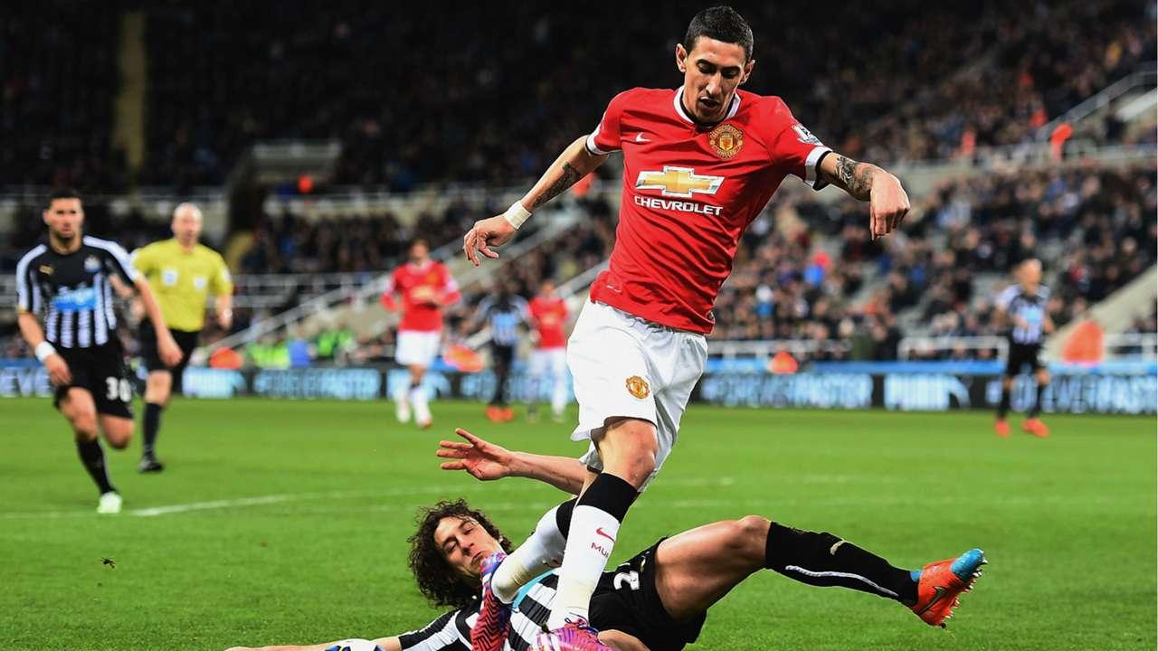 Angel Di Maria Premier League Newcastle v Manchester United 040315
