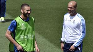 Zidane Benzema Real Madrid