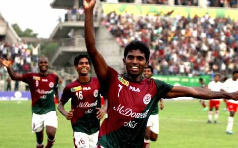 Denson Devadas, Mohun Bagan vs Air India, I-League