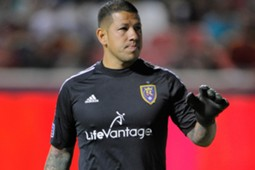 Real Salt Lake goalkeeper Nick Rimando