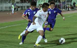 Chinese Taipei vs Myanmar,AFC Challenge Cup