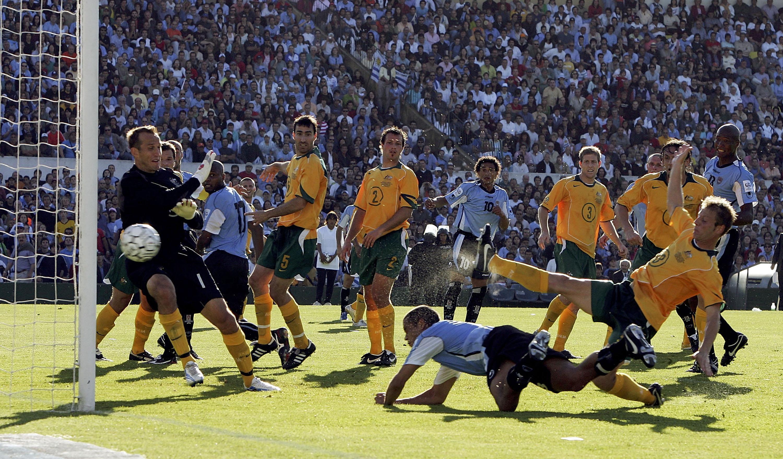 Australia vs Uruguay 2006 WC Qualifier