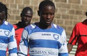 AFC Leopards' Bernard Mangoli..